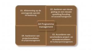 A4 programma management - Keuzemenu programmamanagement - IEP moeder thema