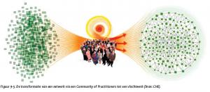 van netwerk via een community of practitioners tot een vlechtwerk