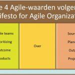 Agile secretariaat - In 4 stappen naar een Agile-secretariaat - 4 Agile-waarden